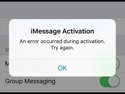 How to fix the error of i messenger and facetime
