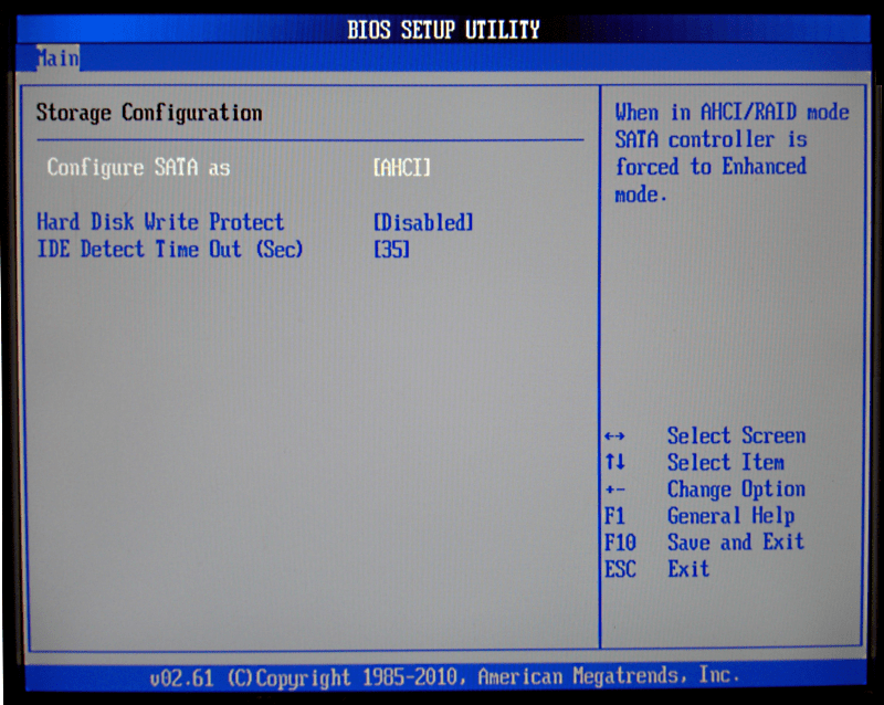 Should be set up IDE or AHCI mode on Bios, and how to?