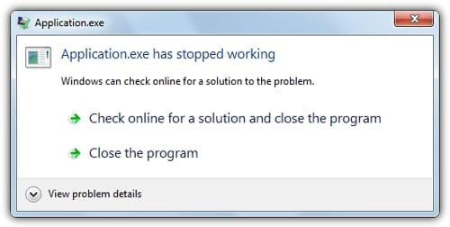 Has Stopped Working Error Windows 8 when play Crossfire