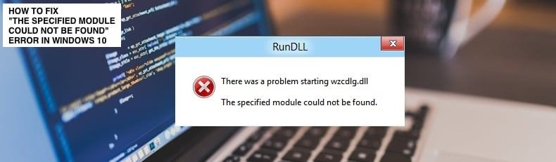Fix 2017: have error The specified module could not be found