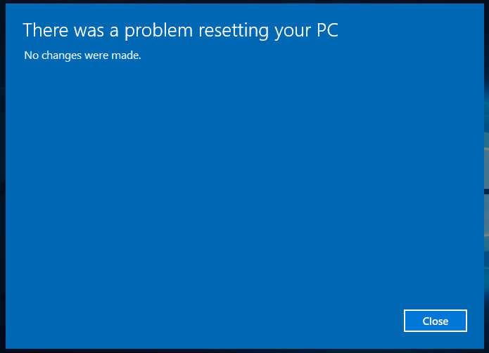 Fix The error: Windows 10 cannot restart (reboot pc)