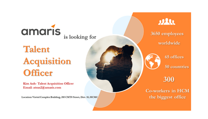 A profile- CV of Talent Acquisition Officer at Amaris Vietnam - Specialized in IT