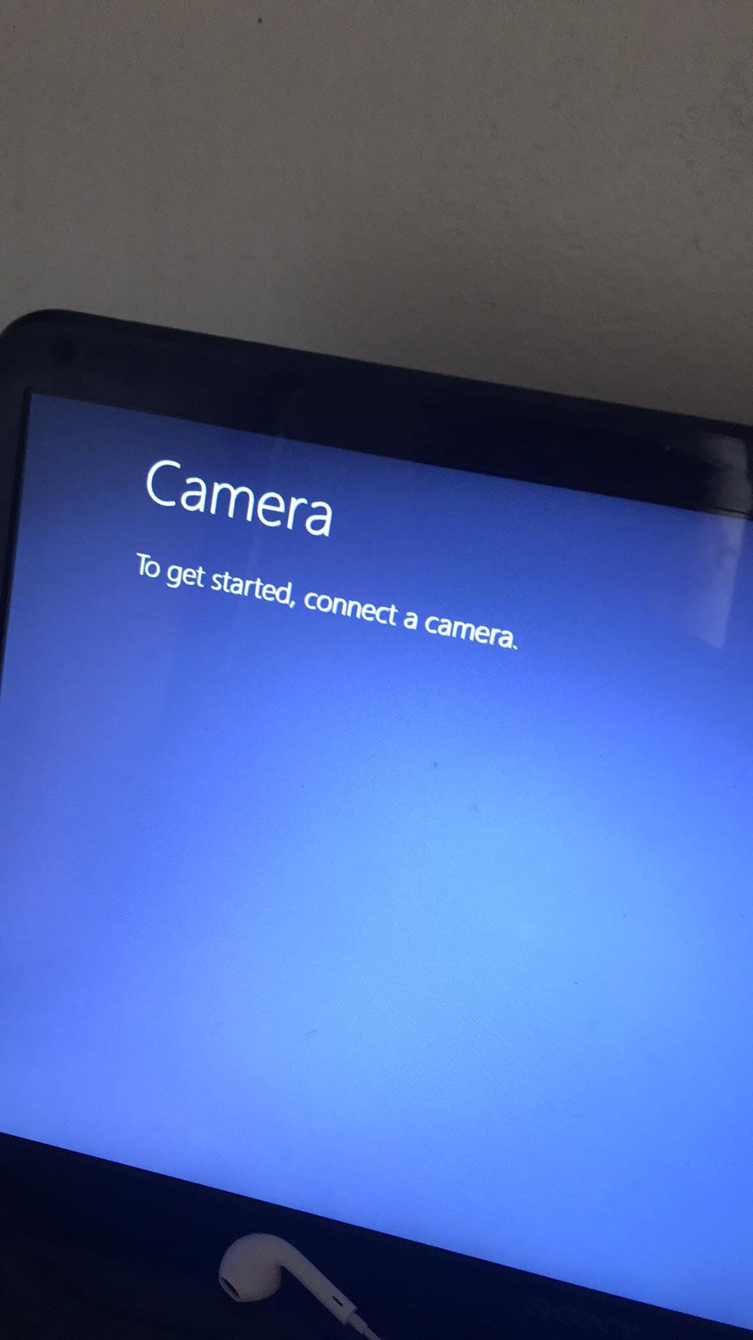 """Fix """"To get started, connect a camera"""" error on win 8"""