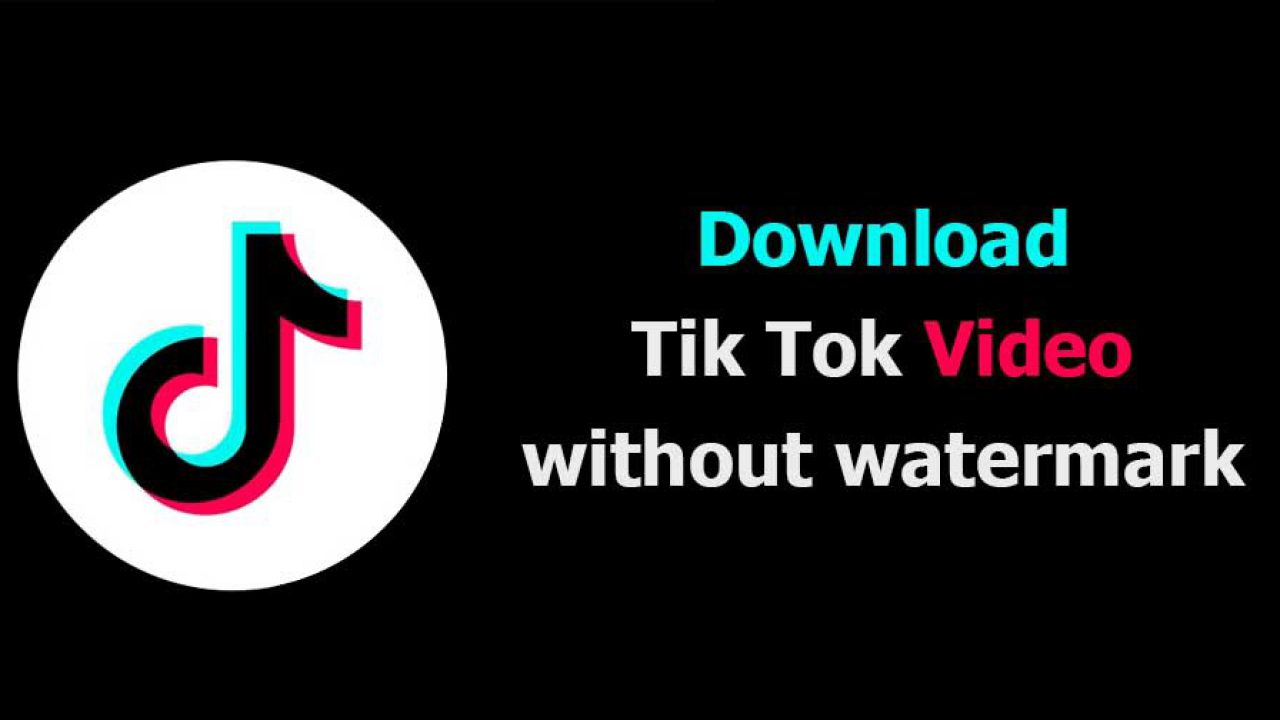 Instructions for downloading videos tiktok without sticking logo or watermark