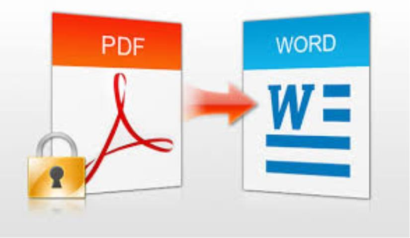 How to convert PDF to Word without a font error