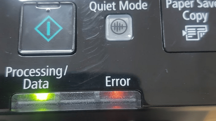 Canon MF241d printer has an error message - How to identify and fix it