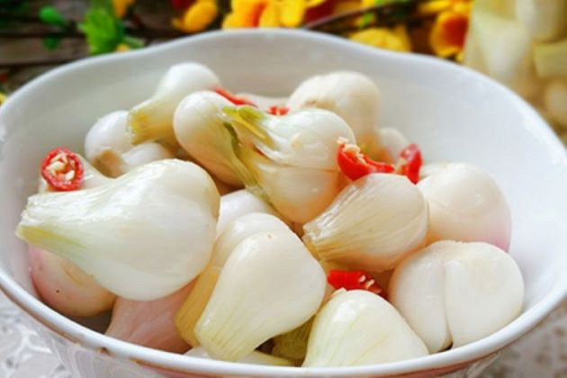 Pickled Onions vietnamese lunar new year dishes