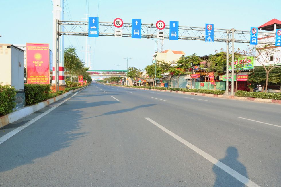 The moment when Saigon Street in the early morning of the New Year, Tan Suu without people, the most peaceful - photo 3
