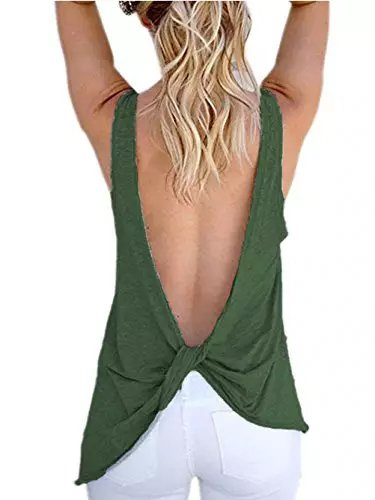 Backless Tank Tops