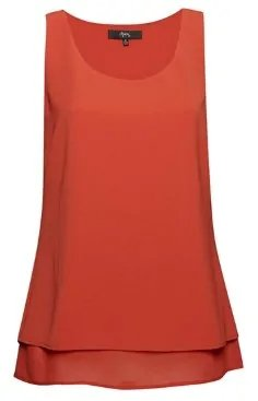 Double Layer Tank Tops