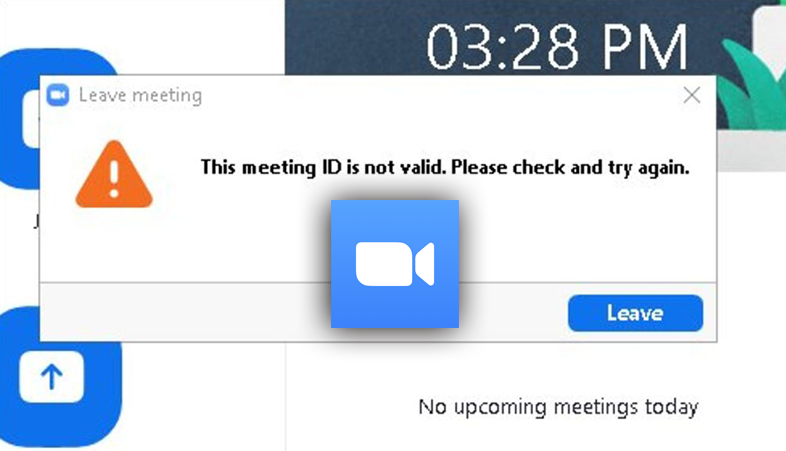 How do I fix the invalid meeting ID in Zoom
