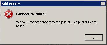 no printers